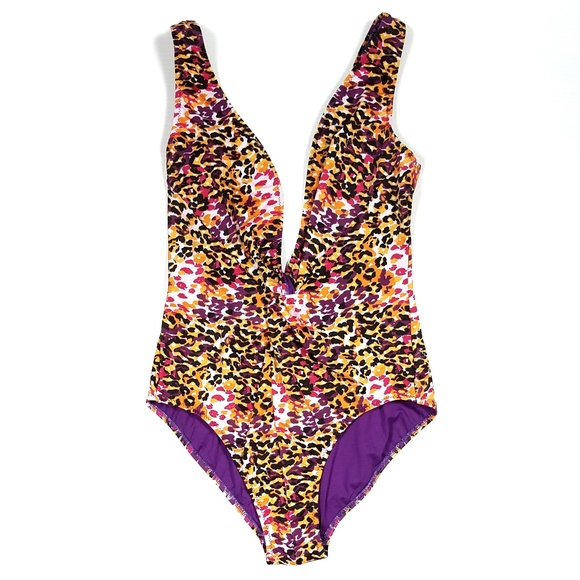 b5ba783b75e15 Diane Von Furstenberg Other - Diane Von Furstenberg Animal Print Swimsuit